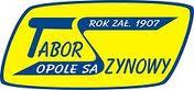 """logo """"Tabor Szynowy"""" Opole"""